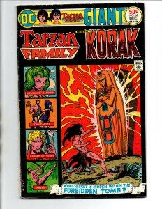 Tarzan Family #60 - Joe Kubert - 1975 - VG