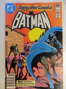 DETECTIVE COMICS # 502 DC BRONZE BATMAN ACTION ADVENTURE