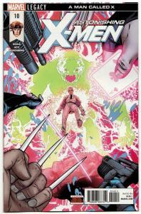 Astonishing X-Men #10 (Marvel, 2018) NM