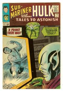Tales To Astonish 72