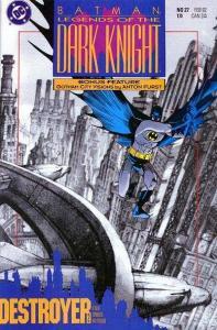 Batman: Legends of the Dark Knight #27, VF+ (Stock photo)