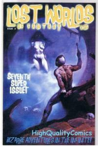 LOST WORLDS of FANTASY #7 Limited, VF+, Mike Hoffman, 2003,more indies in store