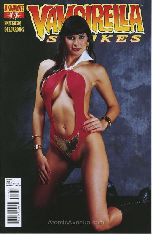 Vampirella Strikes (2nd Series) #6E VF/NM; Dynamite | save on shipping - details