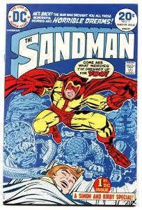 Sandman #1-comic book 1974-jack Kirby-dc-first Issue