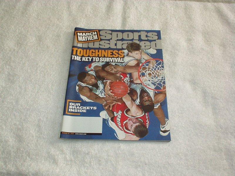 Sports Illustrated 2001 MARCH MAYHEM, Pro Football, Hockey, Pro Basketball +