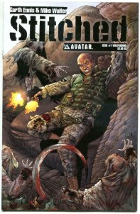 STITCHED #1 2 3 4 5 6, NM, Garth Ennis, Mike Wolfer, 2011,more in store, 1-6, A