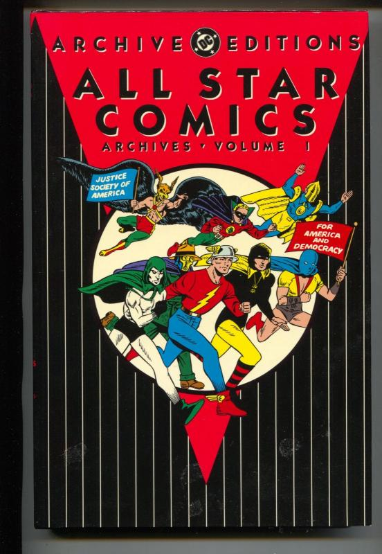 All Star Comics Archives-Vol 1-#3-6-Color-Hardcover