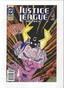 Justice League America #76 1987 DC Comics Copper Age  NM