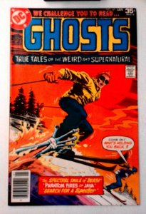 Ghosts #60 DC 1978 VF+ Bronze Age Comic Book 1st Print