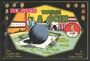 Brick Bradford-Voyage In A Coin 1976-Reprints the daily Brick Bradford comic ...