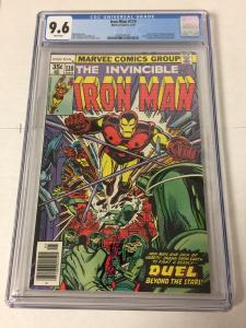 Iron Man 110 Cgc 9.6 White Pages
