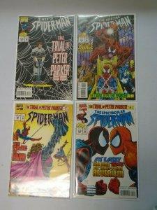 Spider-Man Set of 4 Trial of Peter Parker 8.0 VF (1995)