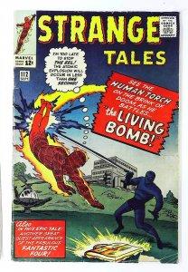 Strange Tales (1951 series) #112, VG- (Actual scan)