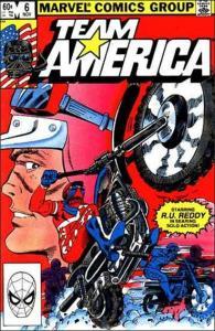 Marvel TEAM AMERICA #6 VF