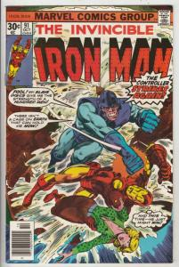 Iron Man #91 (Oct-76) NM- High-Grade Iron Man