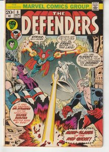 Defenders(vol. 1) # 8 At the Mercy of the Red Ghost !