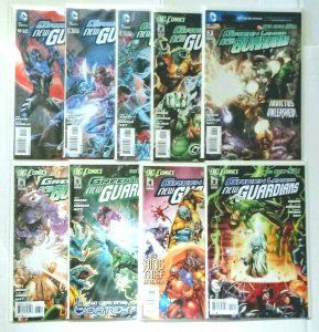 Green Lantern New Guardians Comic Book Lot of (9) High Grade Copies  CL70-01