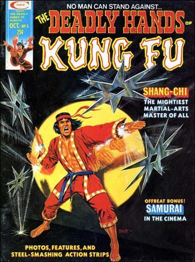 Marvel THE DEADLY HANDS OF KUNG-FU (1974 Series) #5 VF-