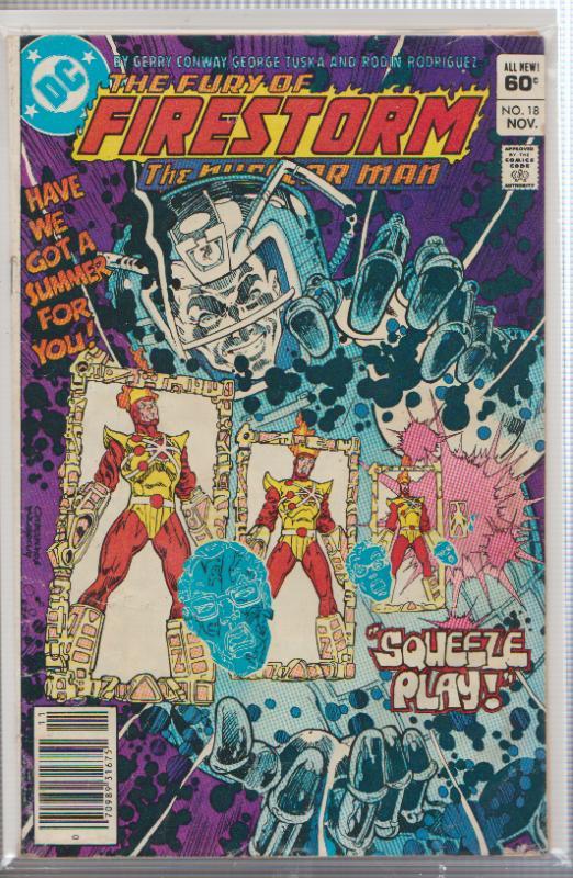 THE FURY OF FIRESTORM #18 - 1983