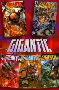 GIGANTIC * 2008 Dark Horse Mini-Series * Complete Set! #1-#5  GIANT Robots!!