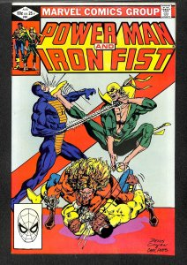 Power Man and Iron Fist #84 NM- 9.2 Early Sabretooth!