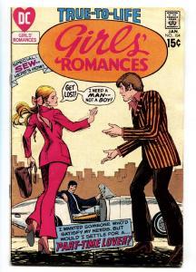 GIRLS' ROMANCES #154 comic book 1971-DC ROMANCE G/VG