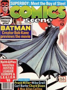 Comics Scene (Vol. 2) #6 FN; Starlog | save on shipping - details inside