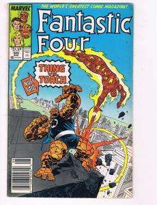 Fantastic Four #305 VG/FN Marvel Comic Book FF Thing Torch DE5