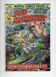 SUB-MARINER #62, VF/NM, Dr Hydro, Atlantis, Marvel, 1968 1973, more in store