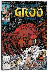 Groo The Wanderer #52 (Marvel, 1989) FN