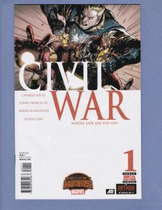 Civil War #1 NM Marvel 2015