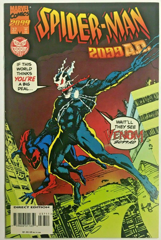 SPIDER-MAN 2099#37 VF/NM 1995 VARIANT 'VENOM' MARVEL COMICS