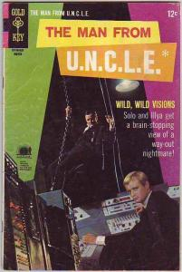 Man from U.N.C.L.E., The #17 (Mar-68) VG Affordable-Grade Napolean Solo, Ilya...