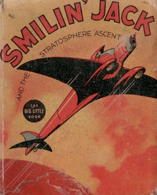 SMILIN' JACK AND THE STRATOSPHERE ASCENT-WHITMAN-# 1152 VG