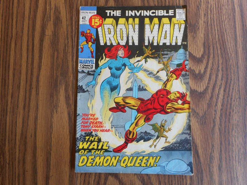 The Invincible Iron-Man # 42