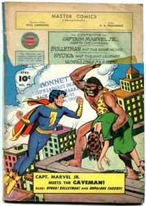 Master Comics #90 1948- Captain Marvel Jr- Bulletman- Nyoka G