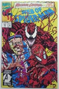 Web of Spider-Man 101 | MAXIMUM CARNAGE | 1st Print | Marvel | 1993