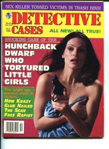 DETECTIVE CASES-OCT 1995-VG-HARD BOILED-SPICY-MURDER-RAPE-HUNCHBACK VG