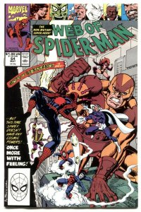 Web Of Spider-man #64 1990-GOLITATH- VF/NM