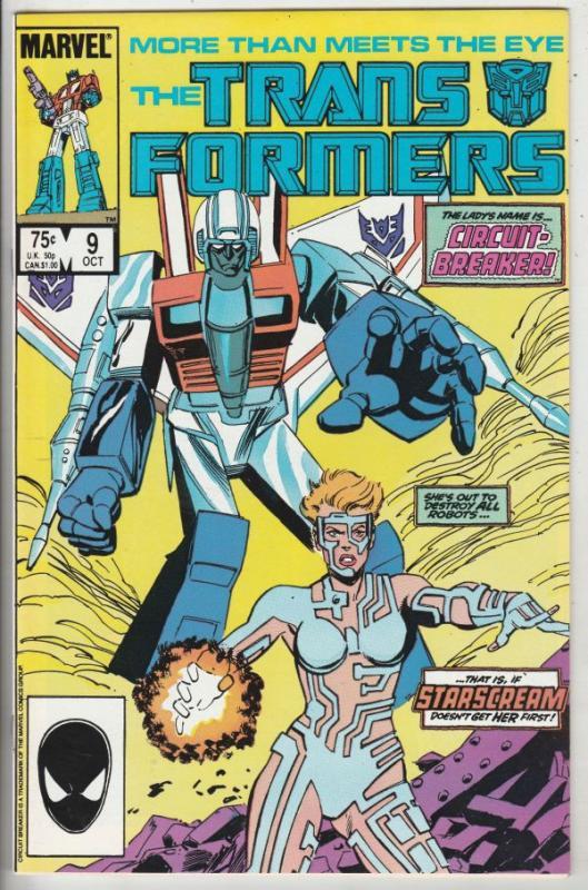 Transformers, The #9 (Nov-85) NM+ Super-High-Grade Transformers (Optimus Prime)