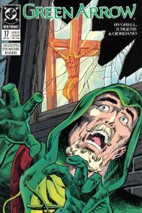 Green Arrow (1988 series) #17, Fine- (Stock photo)