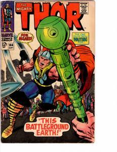 Mighty Thor (1966) 144 Good/Very Good (3.0) Kirby