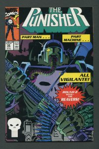 Punisher #34 / 9.2 NM-  June 1990