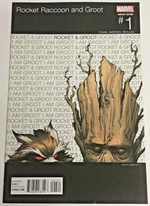 ROCKET RACCOON & GROOT#1 NM 2016 HIP HOP VARIANT MARVEL COMICS
