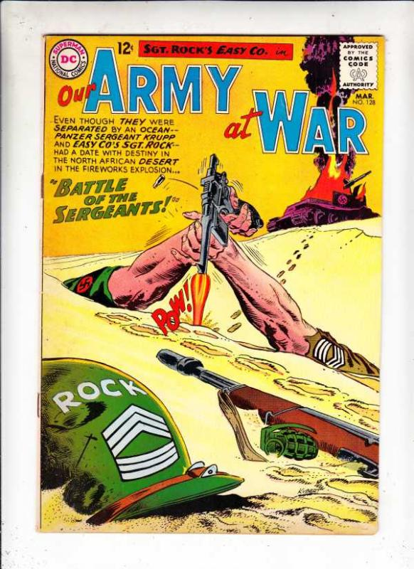 Our Army at War #128 (Mar-63) VF/NM High-Grade Easy Company, Sgt. Rock