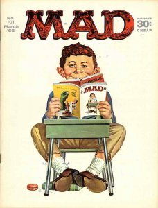 Mad #101 VG; E.C   low grade comic - save on shipping - details inside