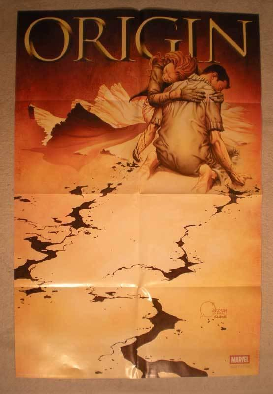 ORIGIN / WOLVERINE Promo Poster, 24x36, 2001, Unused, more Promos in store