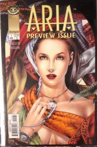 ARIA Comic Lot - 9 backissues Image Comics Angela app dark urban mythic fantasy