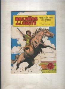 Hazañas del Oeste numero 187: La caravana misteriosa (Buxade)