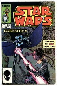 STAR WARS #88-Darth Vader is Dead. Marvel comic book